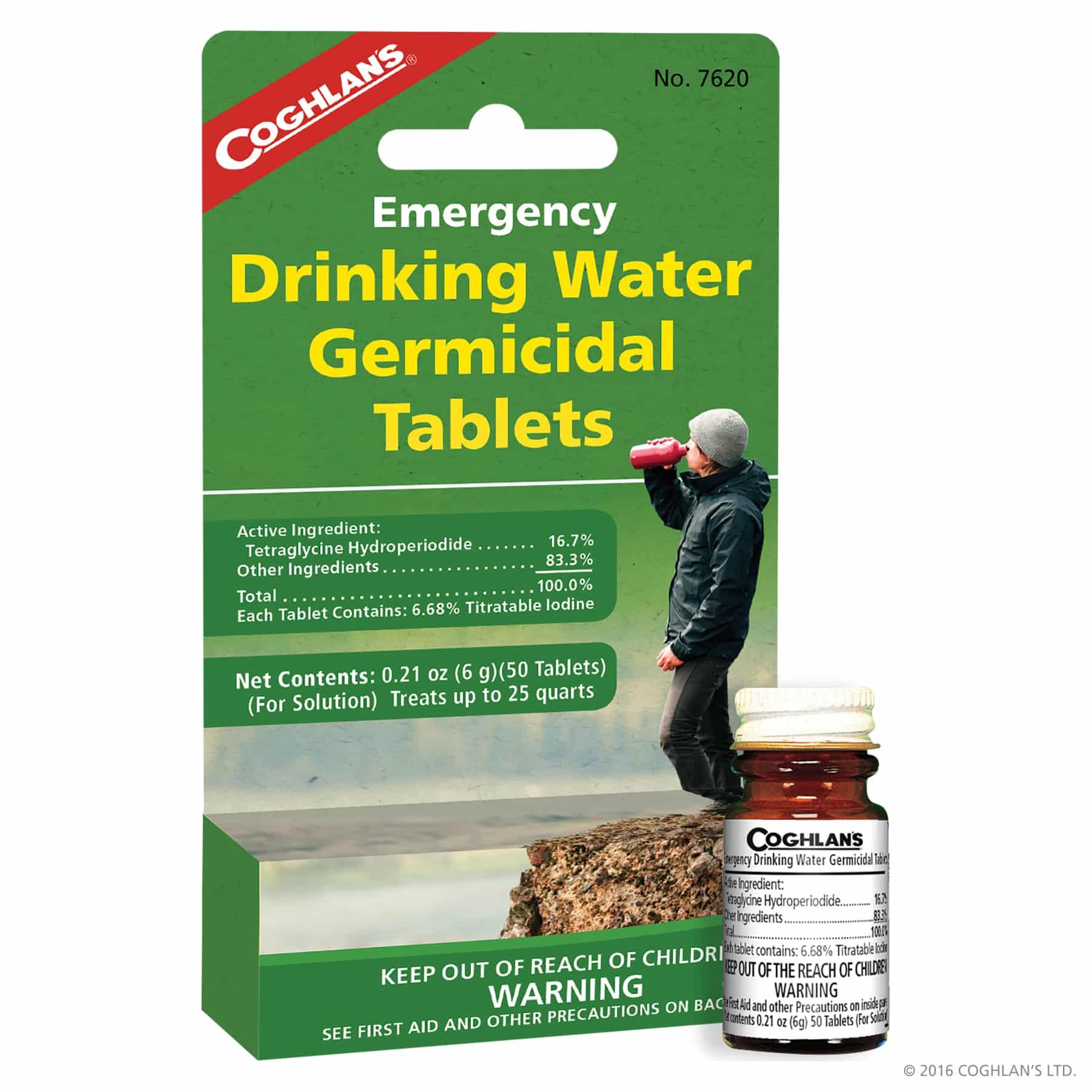 vattenreningstabletter
