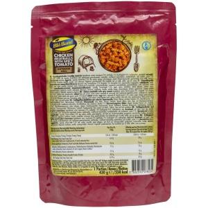 Kycklingköttbullar med kryddstark tomatsås - mjukkonserv