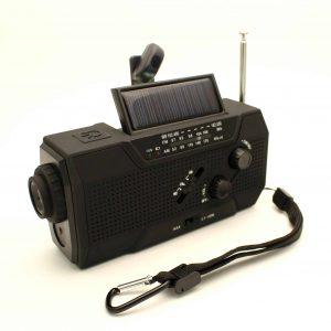 radio med batteri
