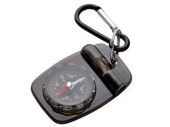 Kompass med visselpipa