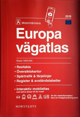 Europa vägatlas