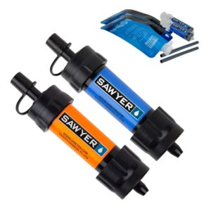Vattenfilter Sawyer Mini 2-pack blå orange