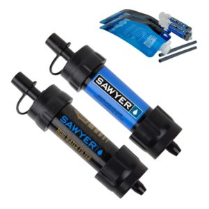 Vattenfilter Sawyer Mini 2-pack blå svart