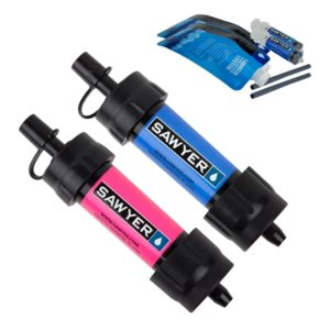 Vattenfilter Sawyer Mini 2-pack blå rosa