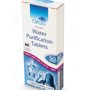 vattenreningstablett oasis