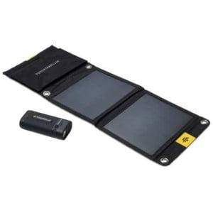 Solcellspanel och Powerbank Powertraveller Sport 25