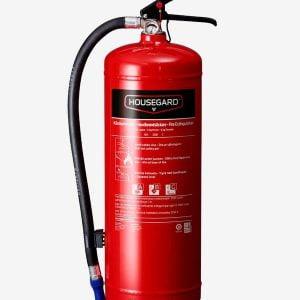 Pulversläckare 6 kg röd - Housegard