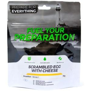 äggröra med ost