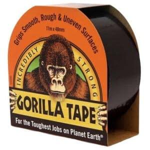 Gorillatejp - Svart 11m x 48mm
