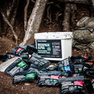 Tactical Foodpack - 7 dagars mat för en person
