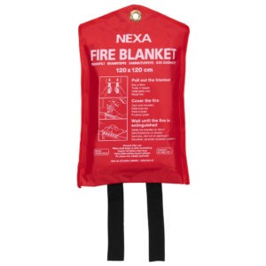 Brandfilt Nexa 120x120 (röd)