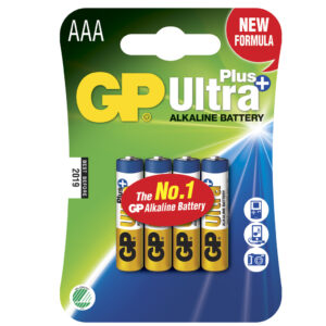 GP Ultra Plus Alkaline AAA (LR03) 4-pack