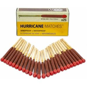 UCO Hurricane Matches - 25 stormtändstickor