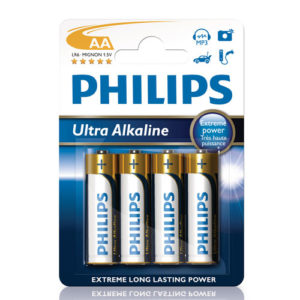 Philips Ultra Alkaline AA 4-pack
