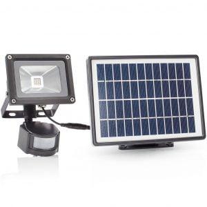Säkerhetslampa med solcell