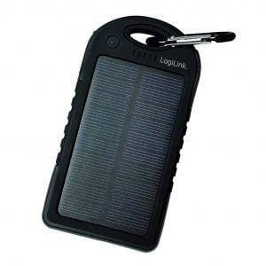 Powerbank med solcell 5000mAh - Logilink