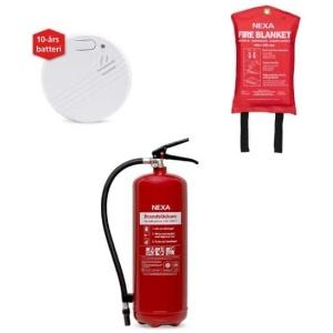 Brandskyddspaket bostad (röd) - liten