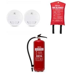 Brandskyddspaket bostad (röd) - mellan