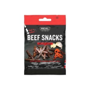 Beef Snacks Chili and Garlic - Real Turmat