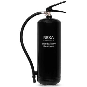 Brandsläckare Nexa Svart 6kg (pulver)