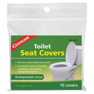 Toalettskydd som täcker toalettsitsen (10-pack)