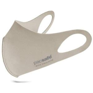 Munskydd - PACSAFE tvättbart med Antimikrobiell ViralOff-teknik (Ash Grey)