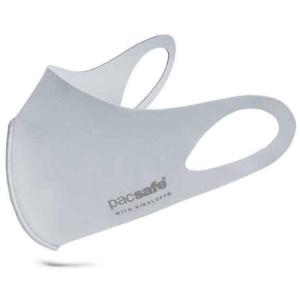 Munskydd - PACSAFE tvättbart med Antimikrobiell ViralOff-teknik (Alo Grey)