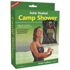 Campingdusch soluppvärmd 19L - Coghlan´s