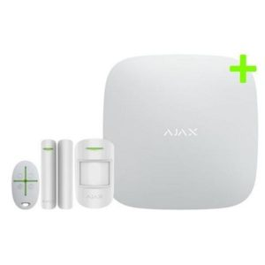 Ajax hemlarm startpaket HubPlus (vit)