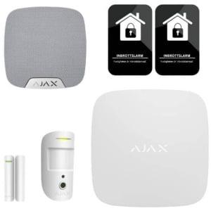 Ajax hemlarm lägenhetspaket med kamera