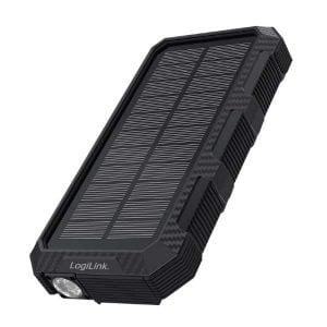 Powerbank solcell 24000mAh (PD18W) - Logilink