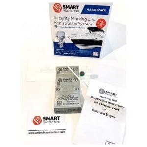 SmartDNA Stöldskyddsmärkning - Båt / Båtmotor