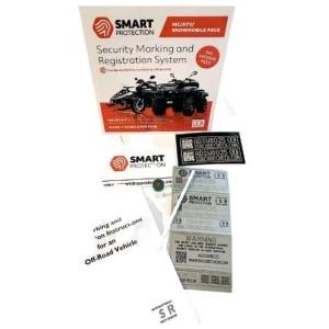 SmartDNA Stöldskyddsmärkning - MC / Fyrhjuling / Snöskoter