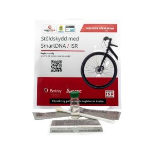 SmartDNA Stöldskyddsmärkning - Cykel / Barnvagn inkl. försäkring