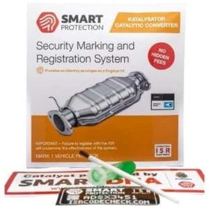 SmartDNA Stöldskyddsmärkning - Katalysator